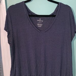 American Eagle Soft and Sexy Striped Favorite T